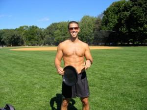 Ian, aka Frisbee Yoda