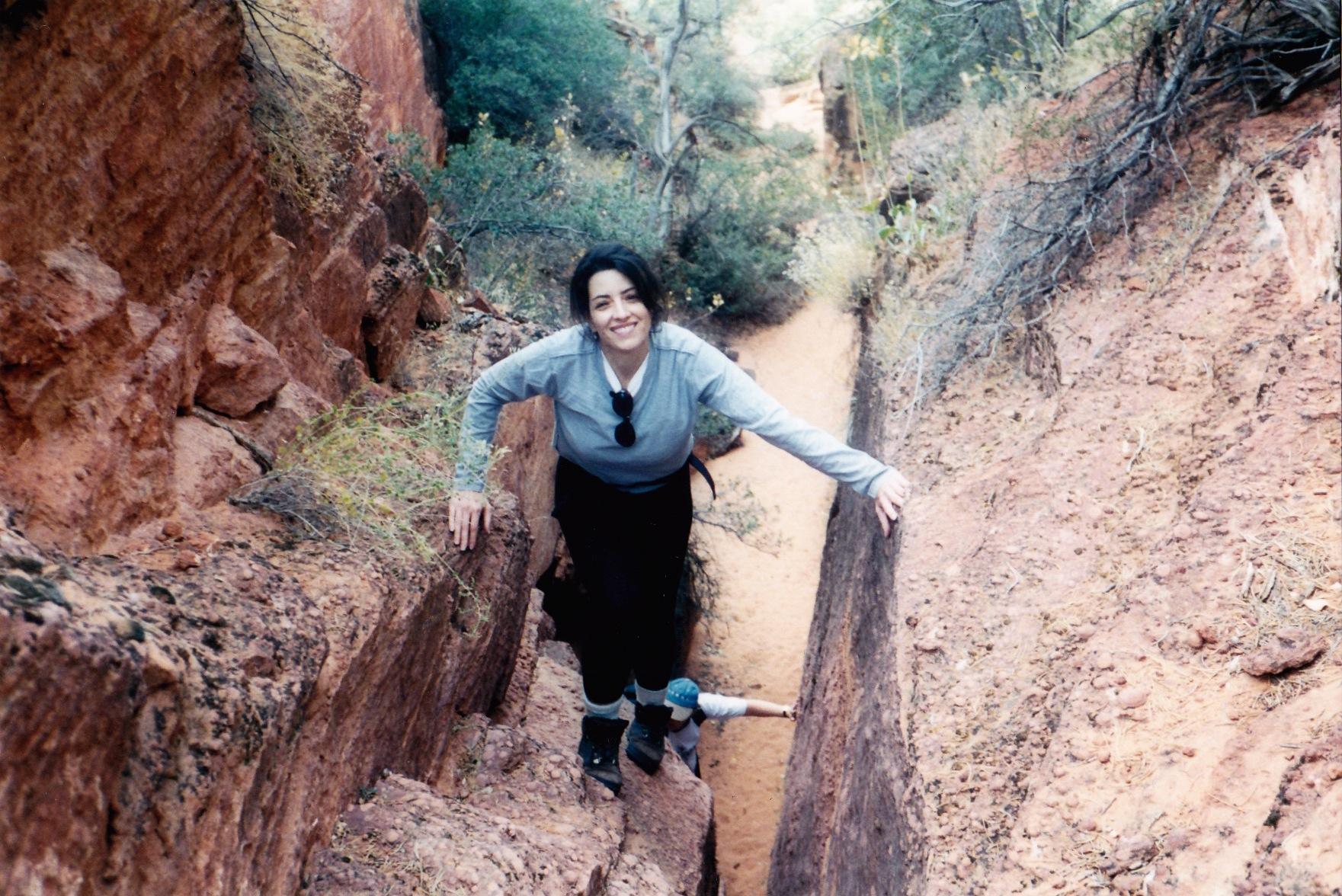 Cristina carlino family - Cristina Carlino Happily Hikes At Green Valley Hi Buddy