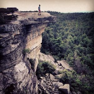 Gertrude's Nose at Lake Minnewaska - Livin' on the Ledge