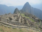 Machu Picchu! We also climbed the peak behind it, Wayna Picchu.